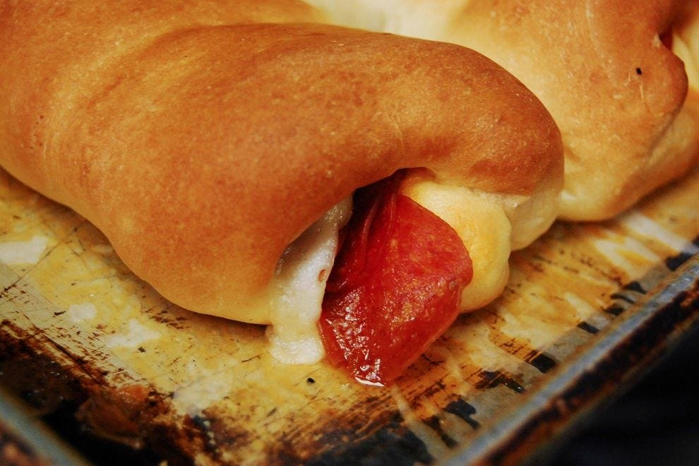 Pepperoni rolls make a great grab-and-go snack