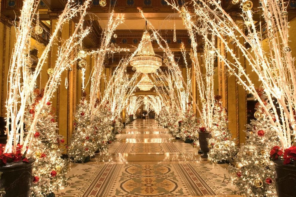 Winning hotel decks their halls with more than 100,000 lights
