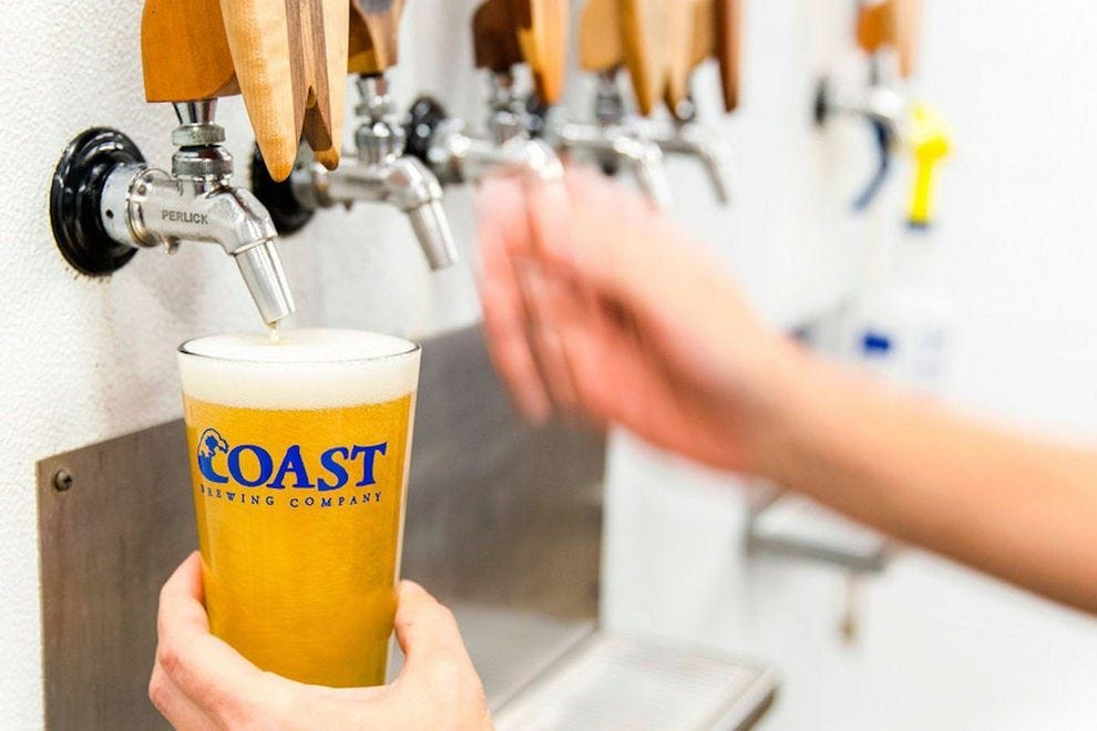 COAST Brewing Company, which refers to the South Carolina coastline, has been brewing in Charleston since 2007