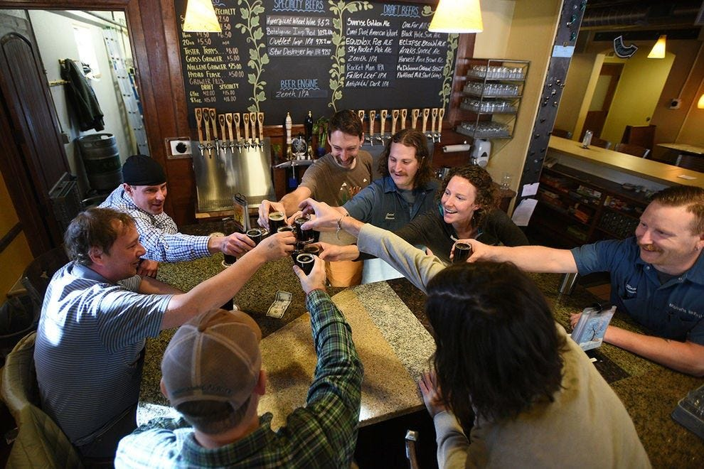 Fort Collins is just over an hour's drive from Denver, which placed 9th in our Readers' Choice Awards for Best Beer Scene