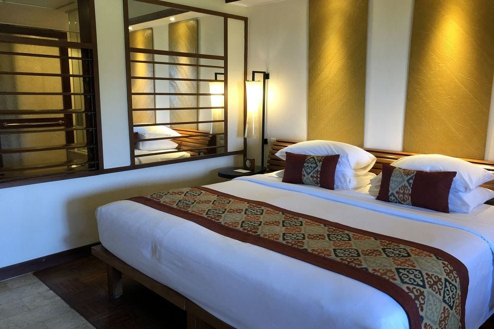 Sleep well in Balinese-inspired rooms