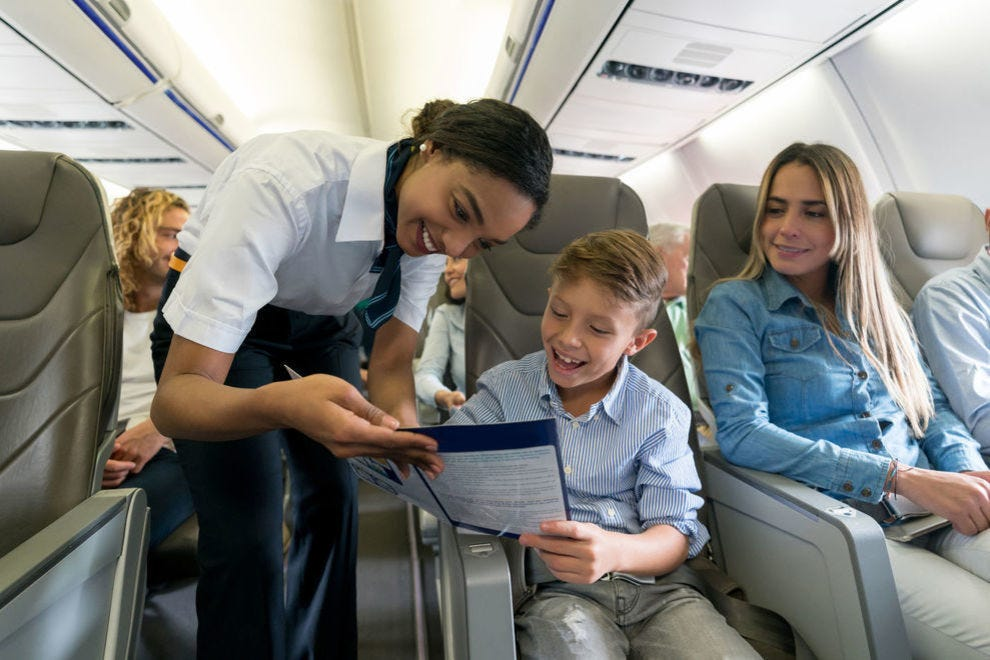A cabin crew can make or break a flight experience