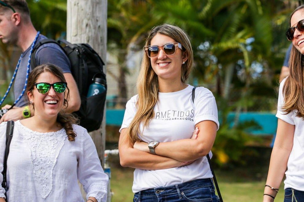 As the cofounder of ConPRmetidos, Isabel Rullán was selected to be a part of Marriott International's #LoveTravels Beyond Barriers grant program and accelerator for 2018 and 2019