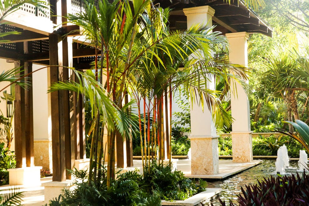 For prime pampering, book a night at the luxurious St. Regis Bahia Beach Resort, which enjoys an ideal location, situated on two miles of serene and secluded beach on Puerto Rico's northeast coast
