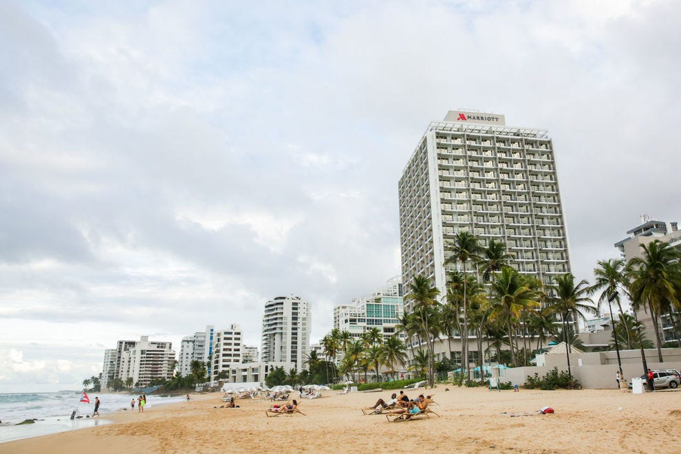 The San Juan Marriott Resort & Stellaris Casino is a beachside destination, just a short drive from Old San Juan
