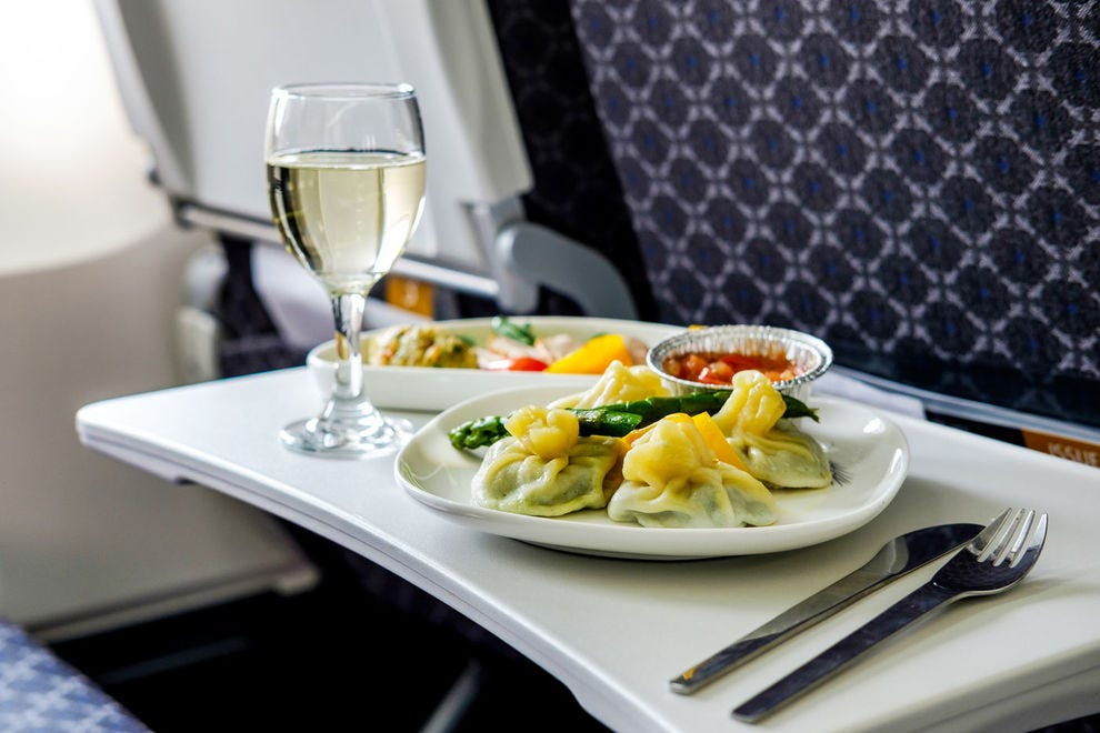 These airlines serve the best food at 30,000 feet