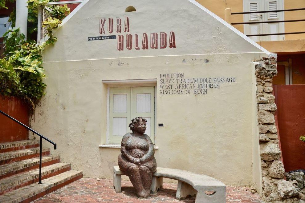 The Kura Hulanda museum in Curacao's Otrobanda neighborhood