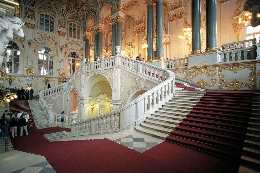 Jordan Staircase, Hermitage, St. Petersburg, Russia