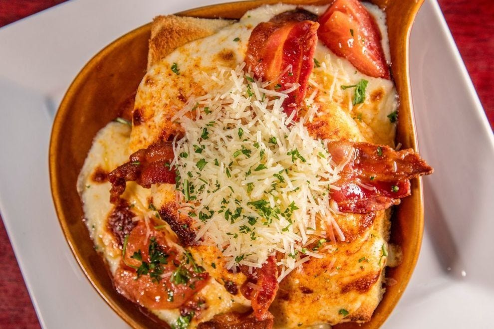 The Louisville Hot Brown was created at the Brown Hotel