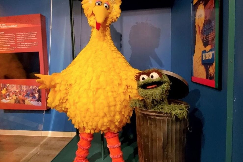 "See the world of ""Sesame Street"" at the Worlds of Puppetry Museum"