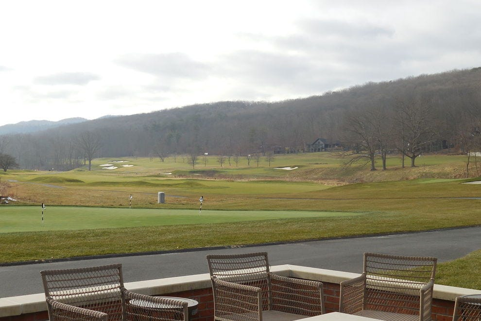 The Old Course at the Omni Bedford Springs Resort is one of the country's first golf courses