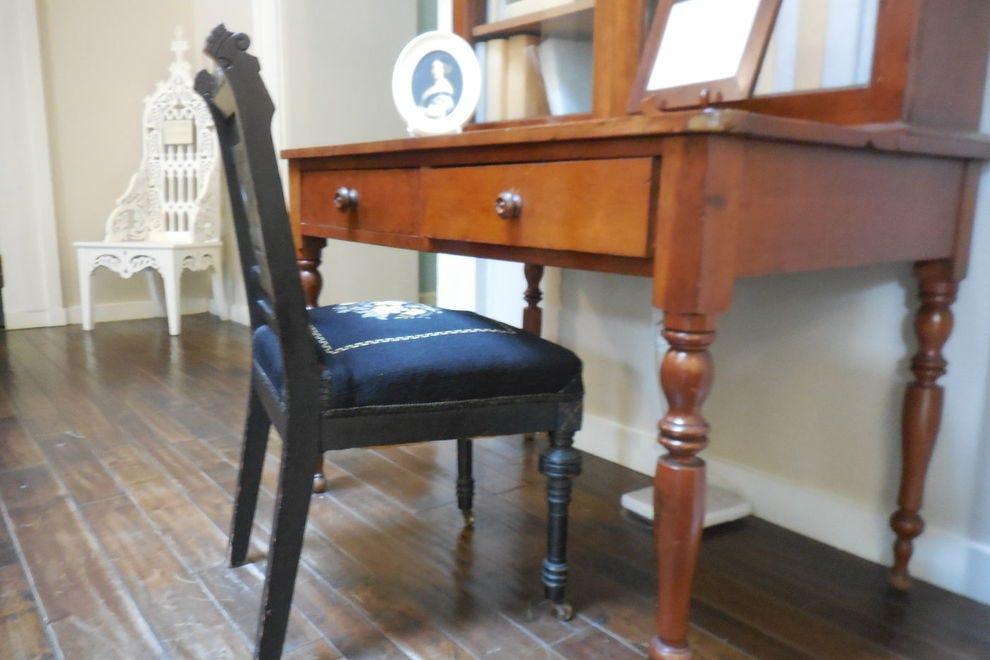 President James Buchanan's desk at the Omni Bedford Springs Resort
