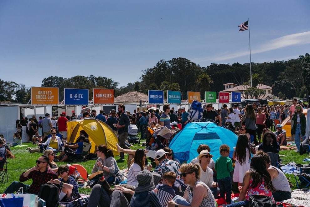 Presidio Picnics are all about the food trucks