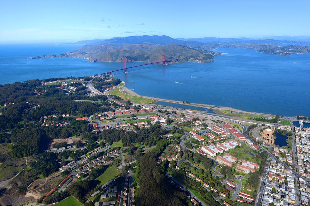 The San Francisco Presidio is the only park – and only national park – in the U.S. to win the prestigious Green Flag award