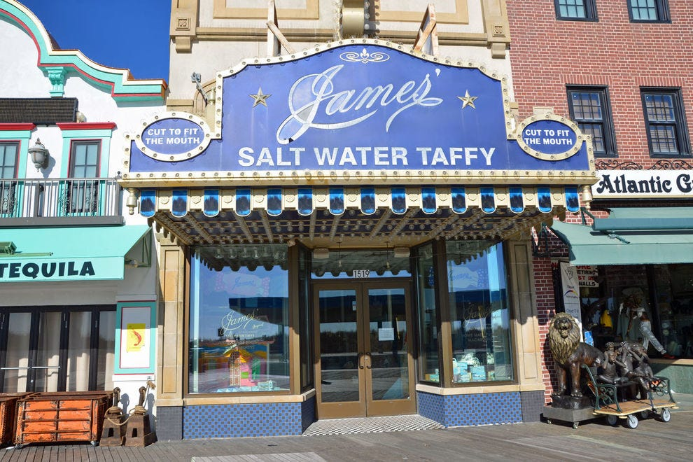 James' Original Salt Water Taffy