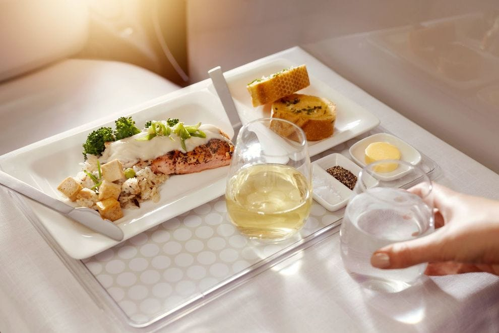 Hungry? Air New Zealand dishes up the best food in the sky