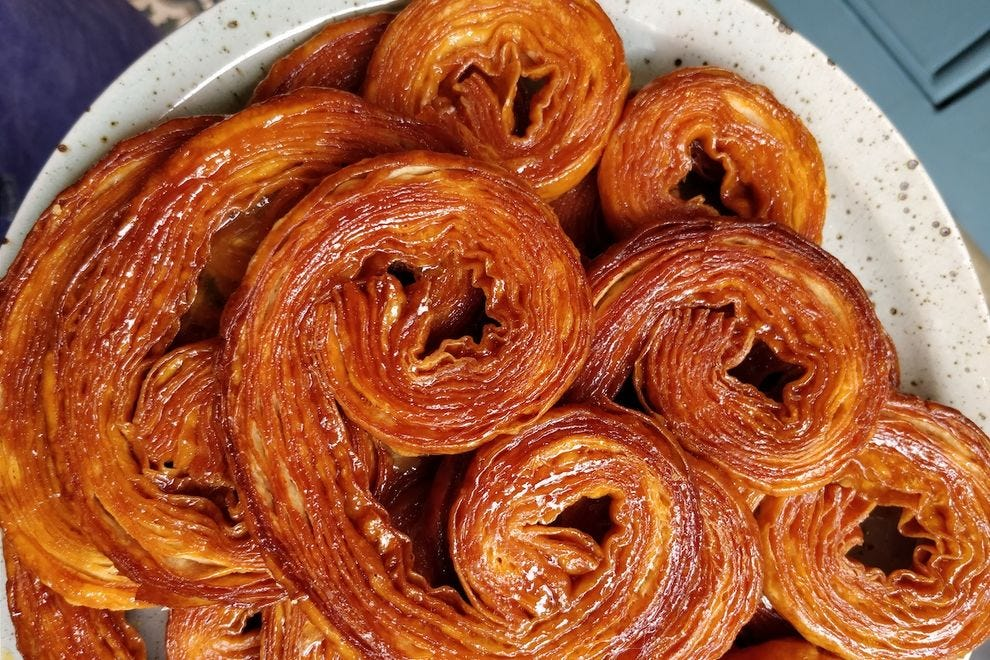 Palmiers from Miel Bakery