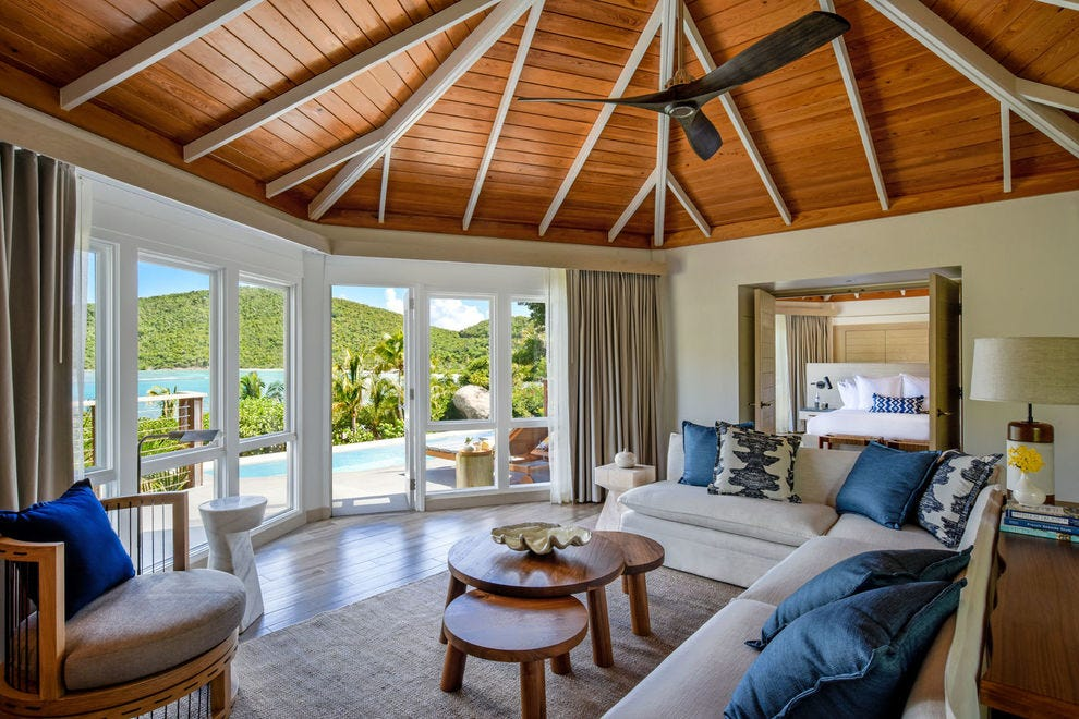 Secluded Rosewood Little Dix Bay