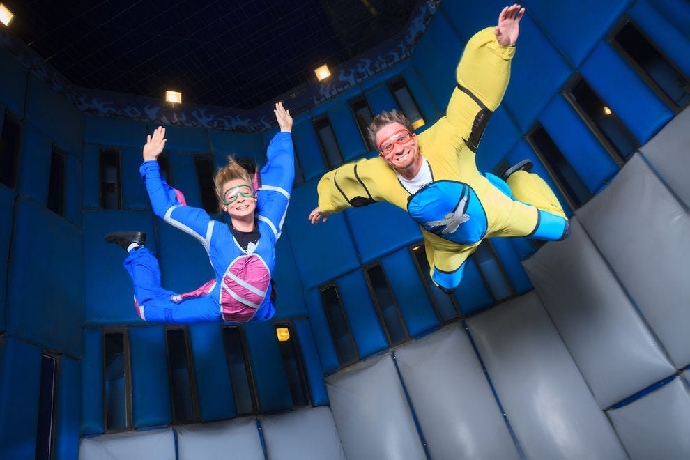 Defy gravity at Vegas Indoor Skydiving