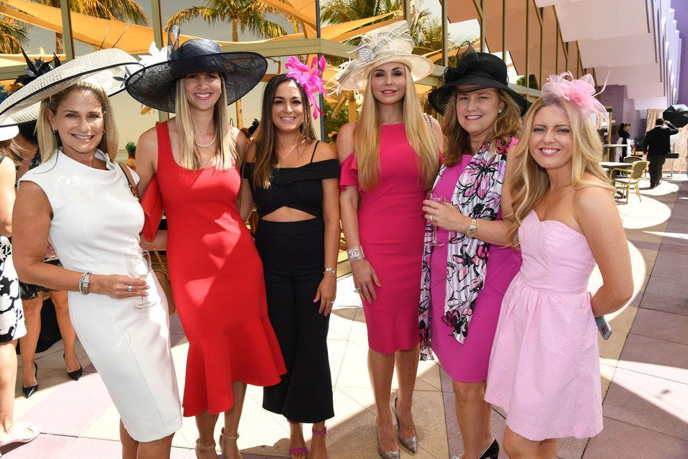 The elegant Truffle Brunch garden party is a highlight at Sarasota's Florida Winefest and Auction