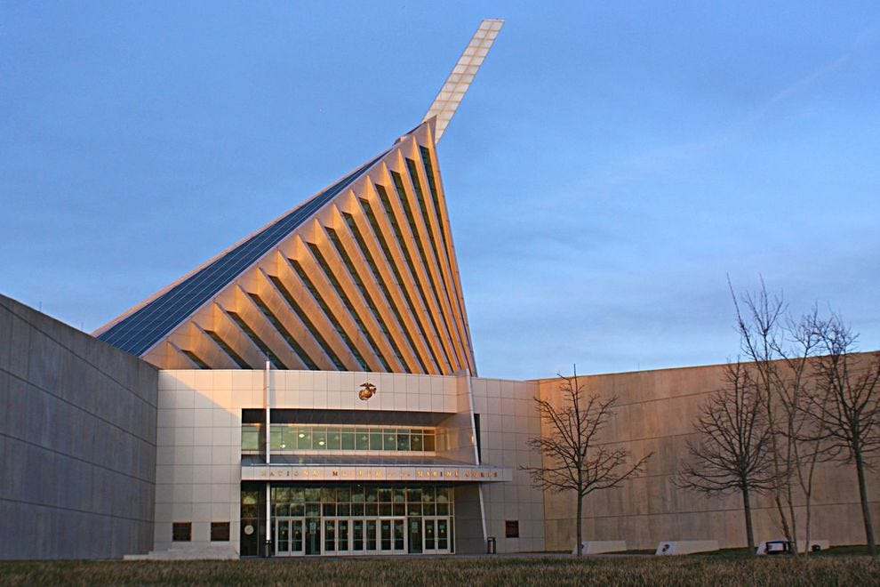 Explore 240 years of marine corps history at this Virginia museum