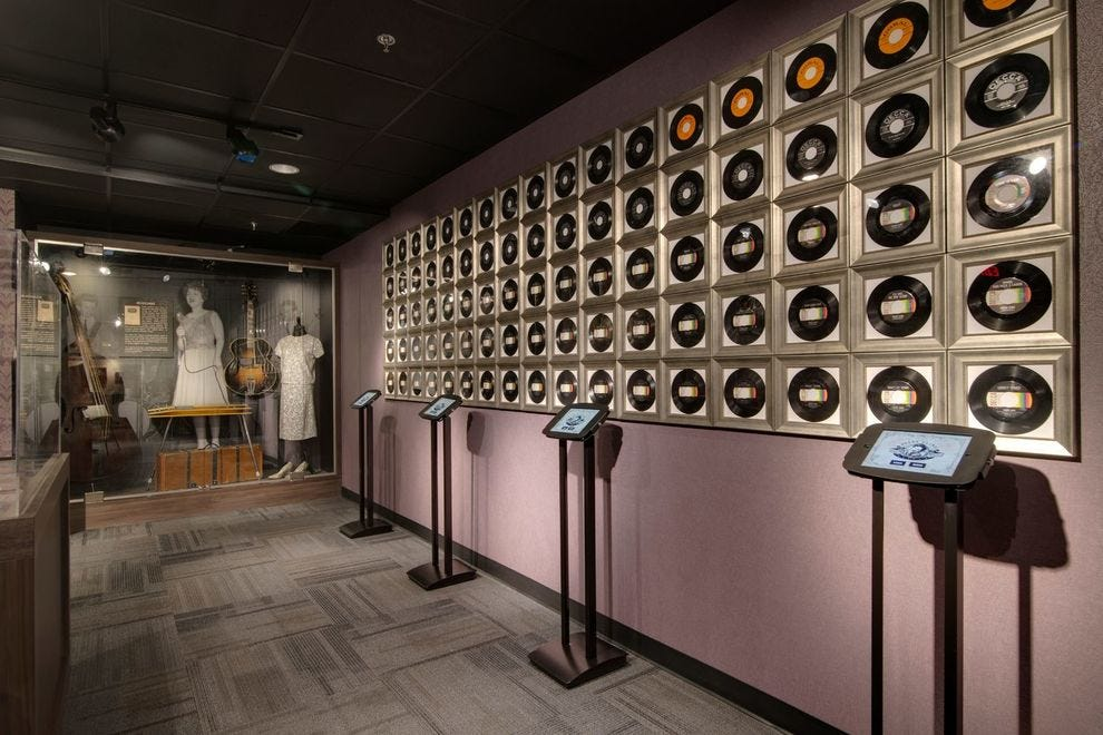 Visitors to this winning museum get a glimpse inside the life of a country music legend