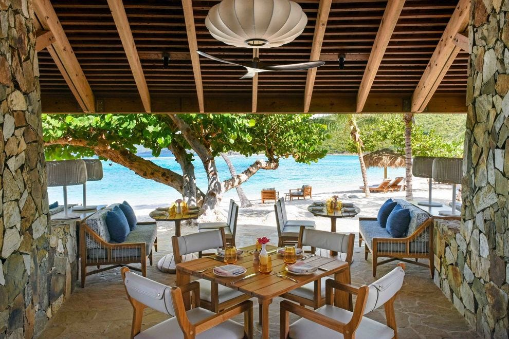 Inside the Caribbean luxury resort with no locks and no TVs