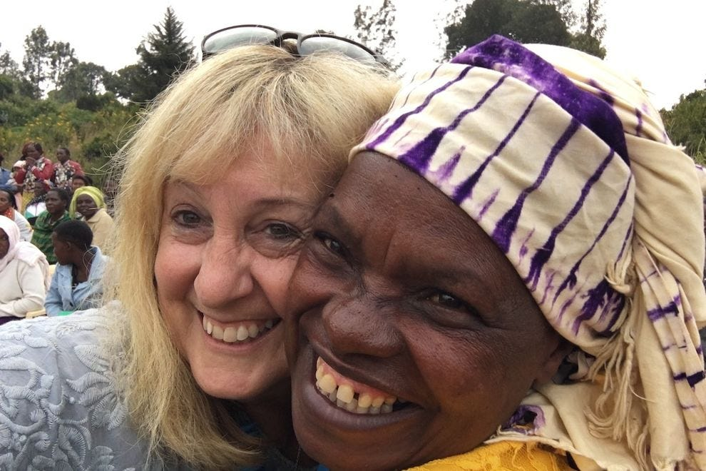 I hugged my way through Kenya