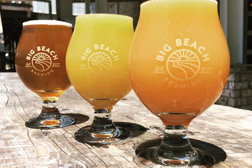 Southern flavor meets beach vibes at Big Beach Brewing