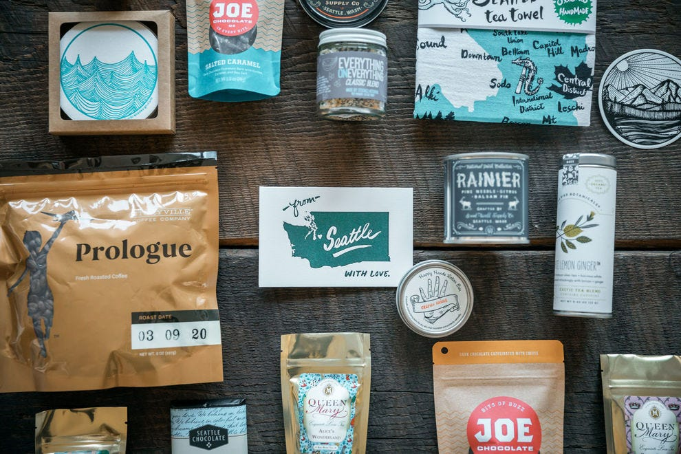This Seattle box is packed with local products from other entrepreneurs