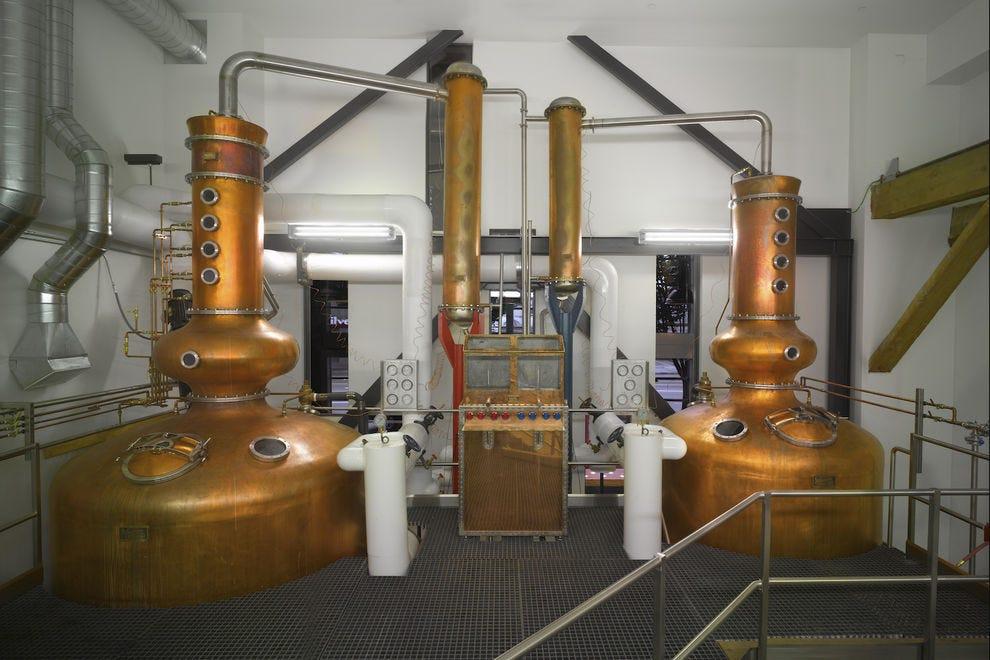 Westland Distillery's still room
