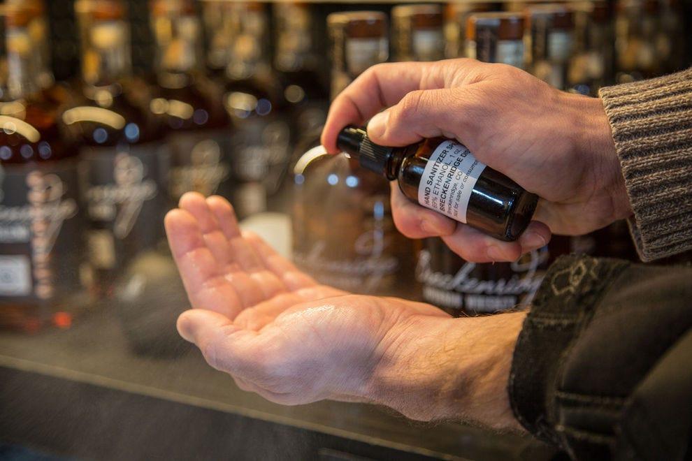 Breckenridge Distillery Hand Sanitizer