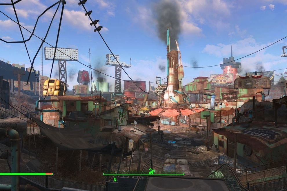 Boston circa 2287, as seen in Fallout 4