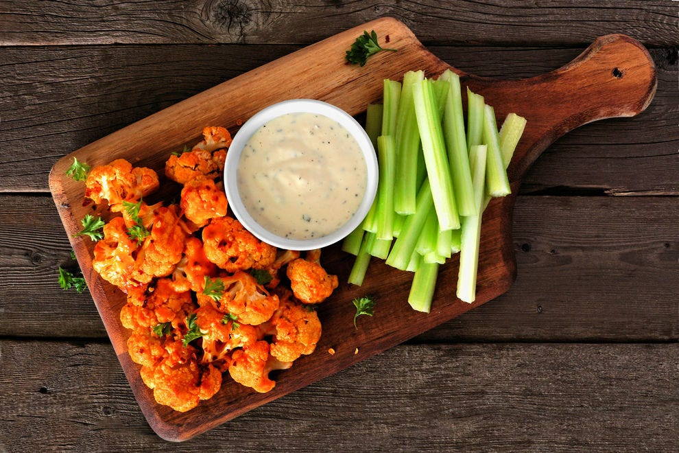 Spice up your life with these buffalo wings