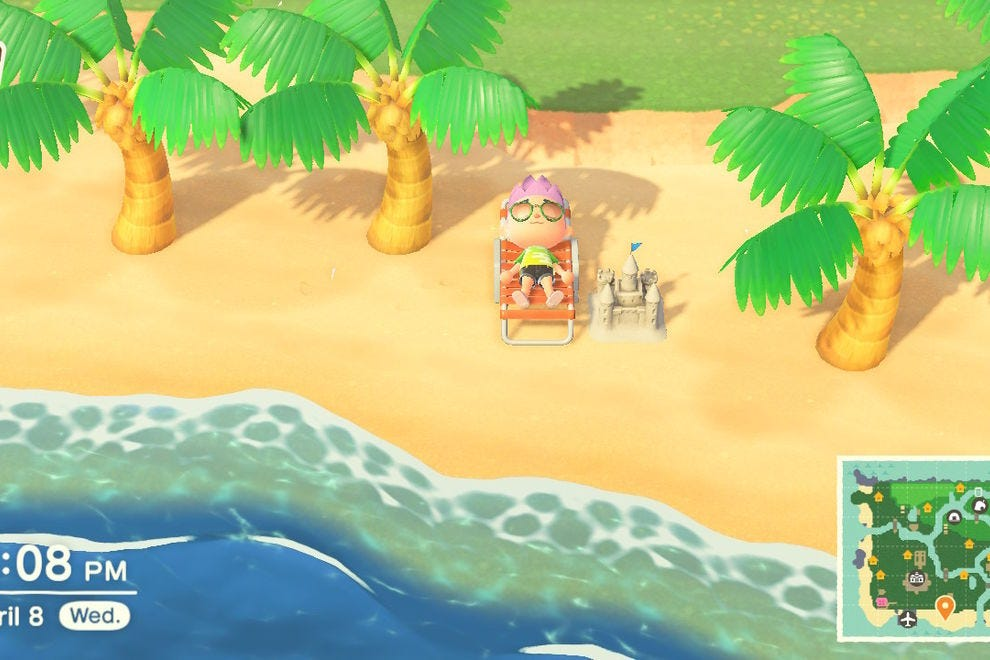 Animal Crossing: New Horizons is perfect for relaxation