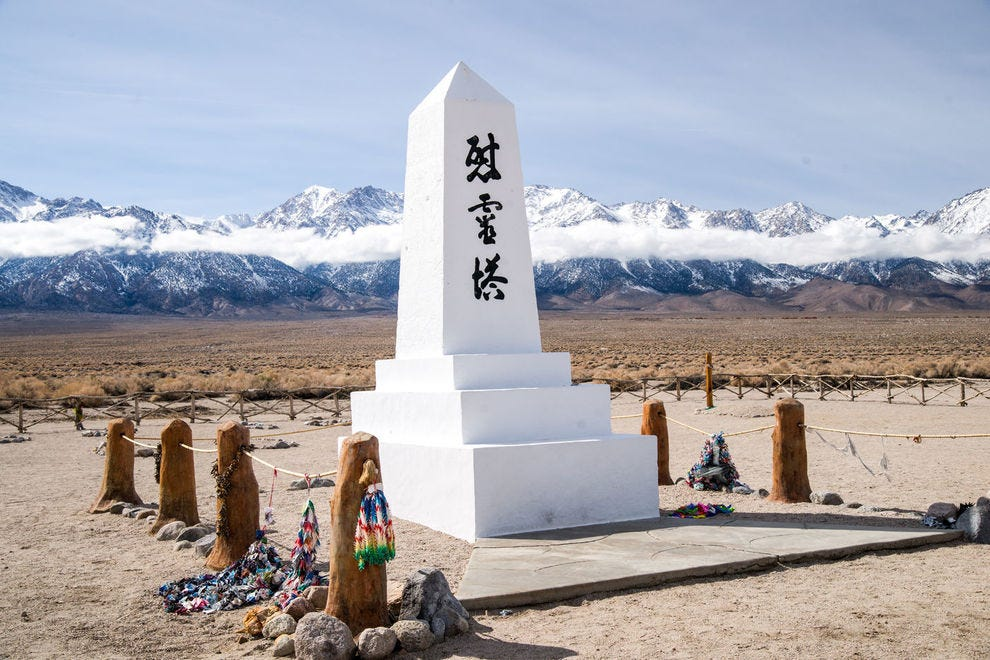 Monument at Manzanar National Historic Site