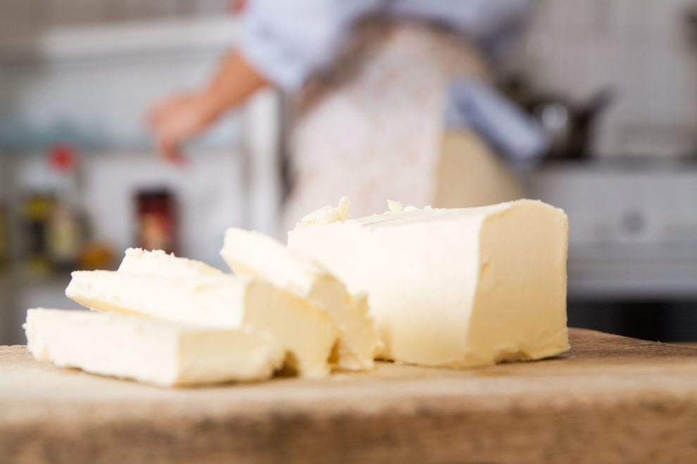Butter is a virtually universal fat to cook with