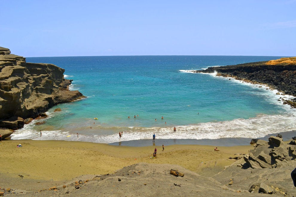Papakolea Beach
