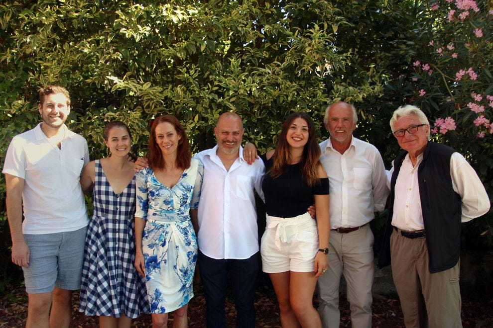 Pierpaolo Guerrini and family