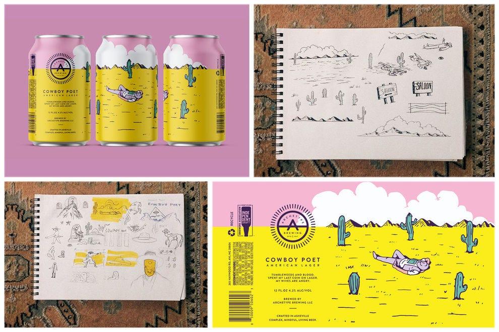 The fascinating stories behind five incredible beer labels