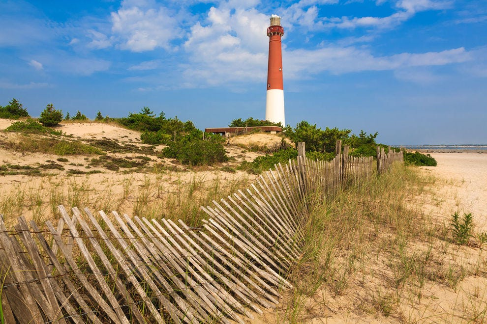 Barnegat Lighthouse on Long Beach Island