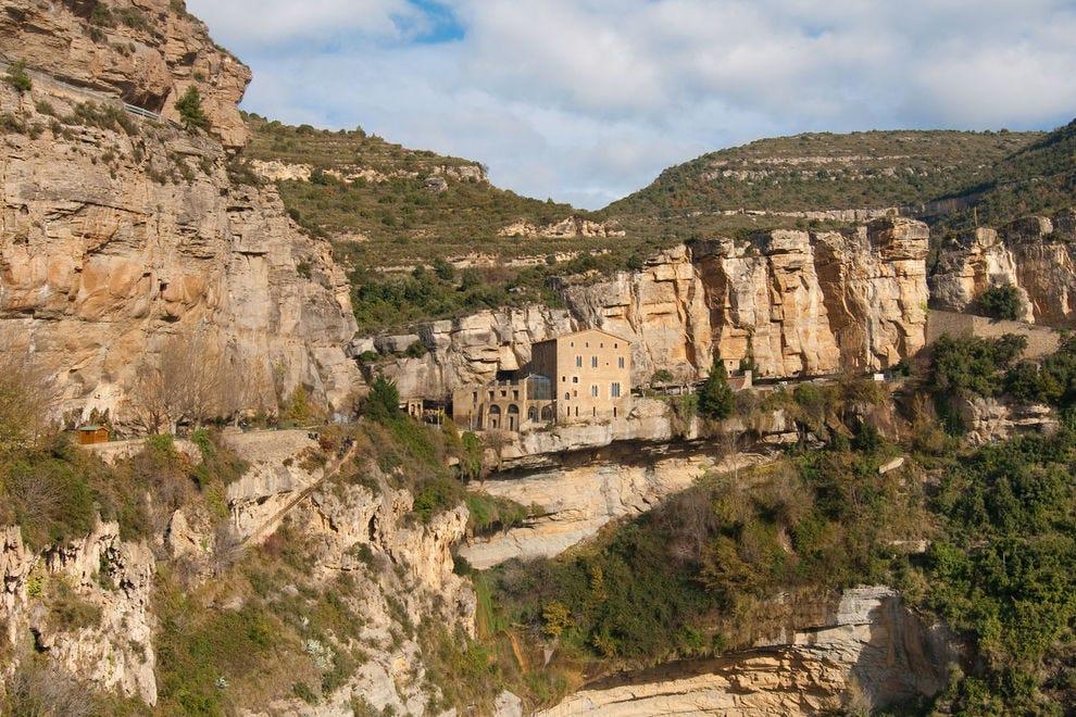 Sant Miquel del Fai near Barcelona