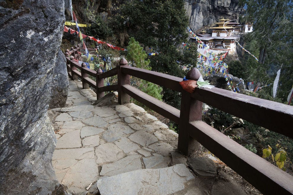 Path to Taktsang Monastery