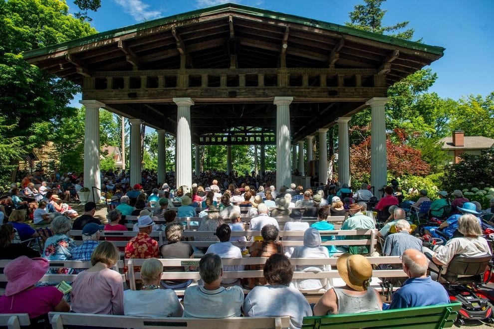 The Chautauqua Institution brings a range of arts programming to this small town