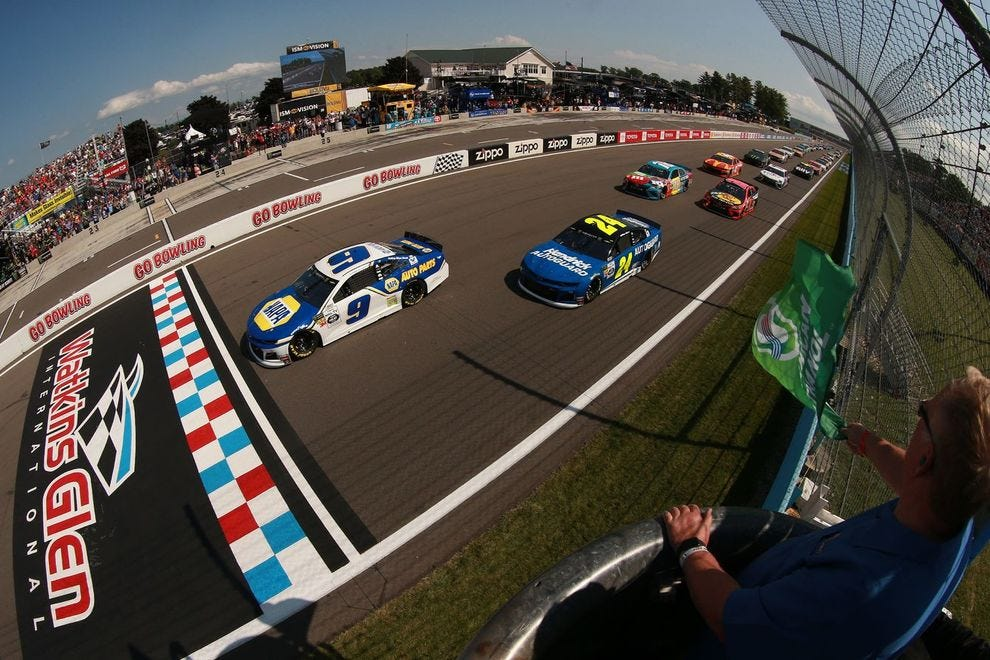 This is the fourth win for Watkins Glen International