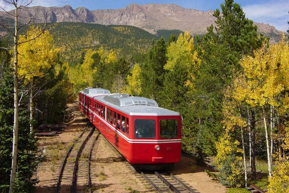 The Broadmoor Manitou and Pikes Peak Cog Railway