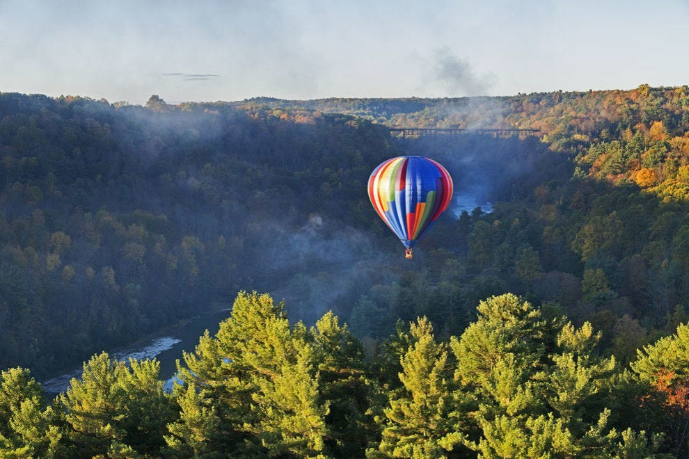Vote for your favorite hot air balloon ride