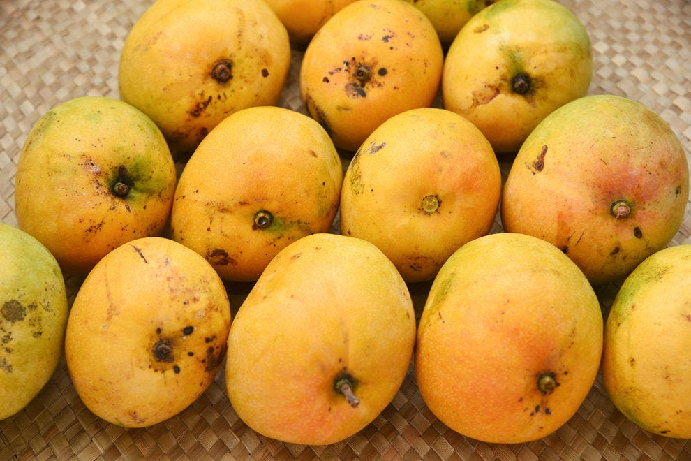 Alphonso mangoes grown in India