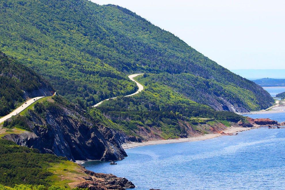 Cabot Trail in Cape Breton Highlands National Park