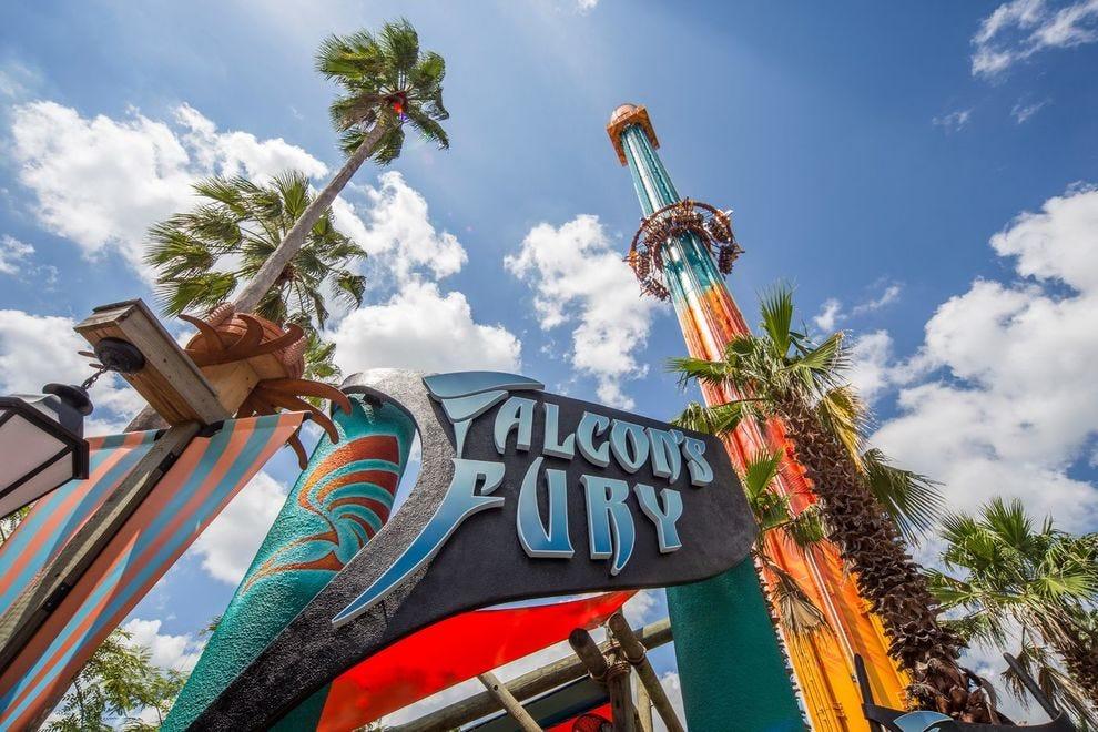 Busch Gardens winner is the nation's tallest freestanding drop tower